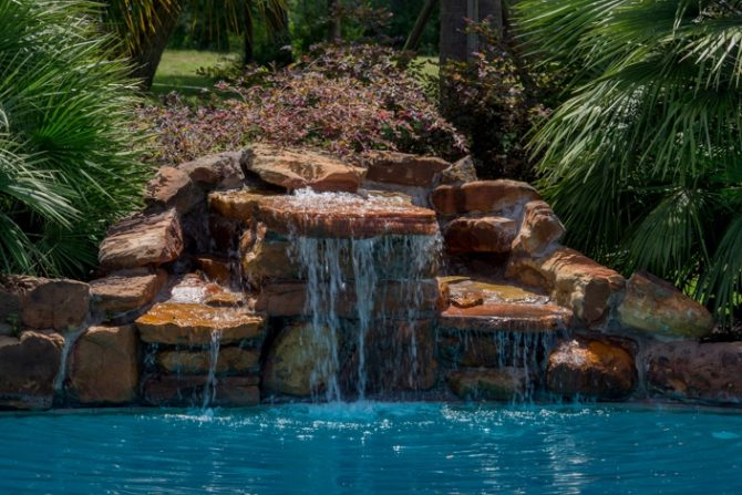 water feature design houston