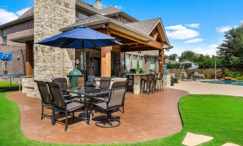 Custom Outdoor Patio and Kitchen Houston